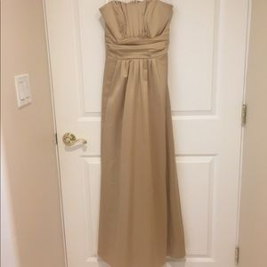 David's bridal formal bridesmaid dress